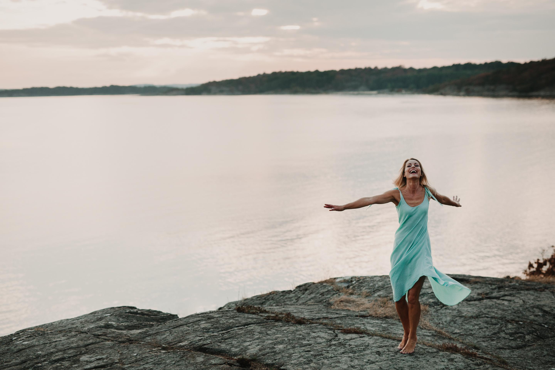 porträttfotografering tjolöholm frihet lycka stark kvinna